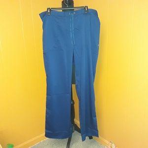 *NWT* Scrub pants Purple Label healing hands sz XL
